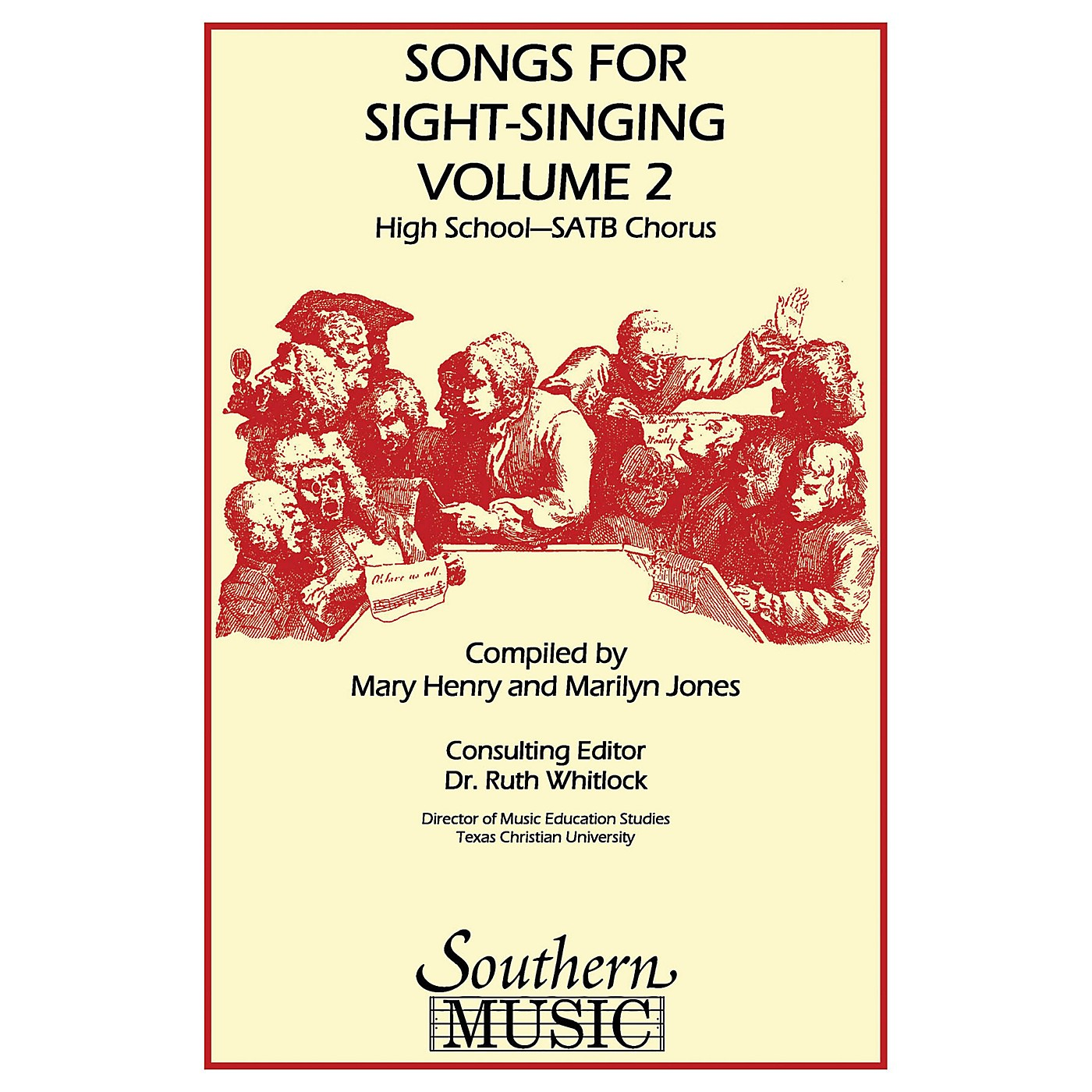 Southern Songs for Sight Singing- Volume 2 (High School Edition SATB Book) SATB Arranged by Mary Henry thumbnail
