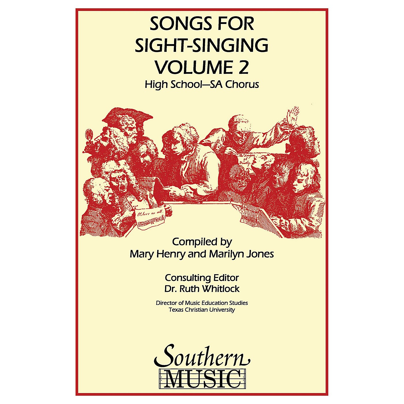 Southern Songs for Sight Singing- Volume 2 (High School Edition SSA Book) SSA Arranged by Mary Henry thumbnail