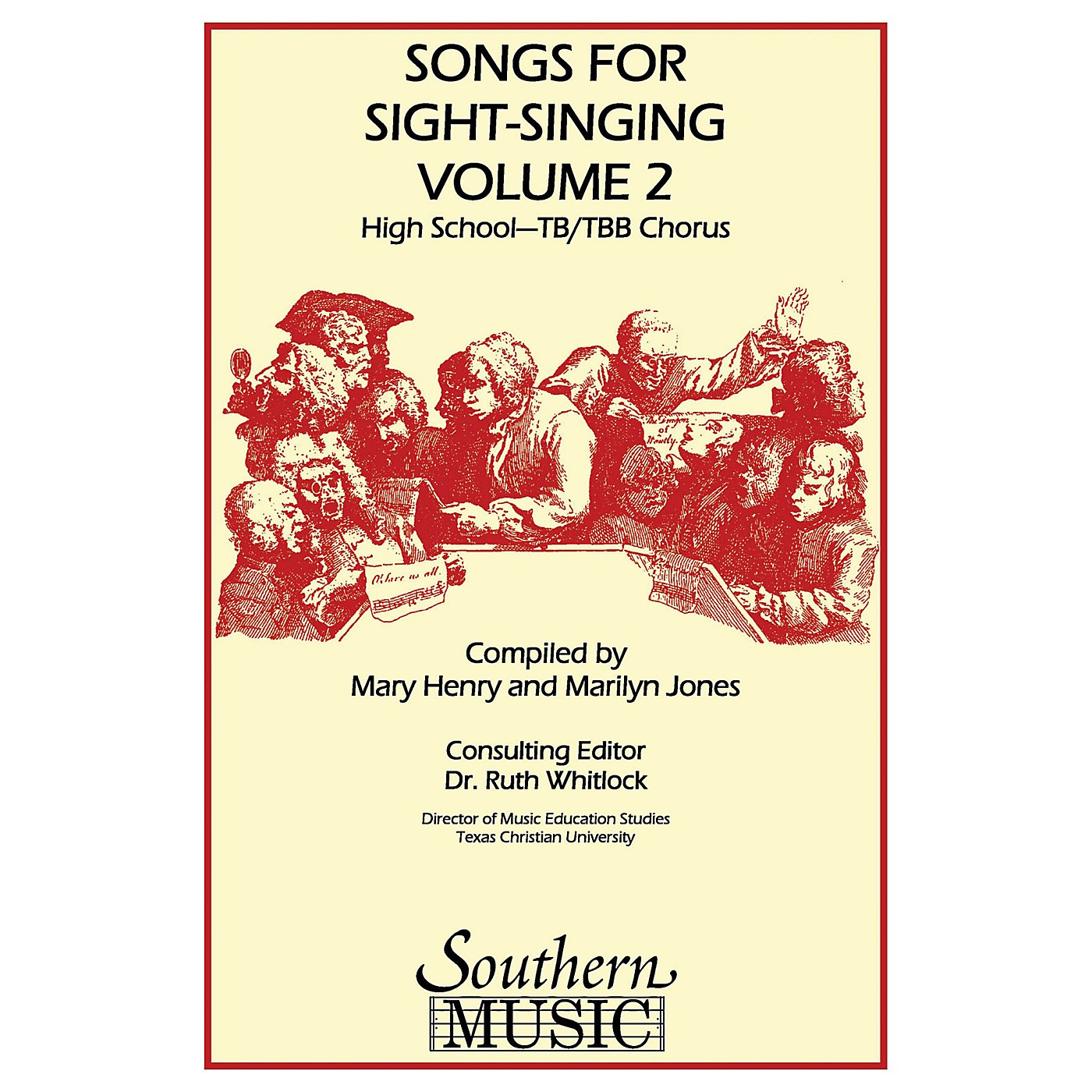 Southern Songs for Sight Singing - Volume 2 (High School Edition TB Book) TB Arranged by Mary Henry thumbnail