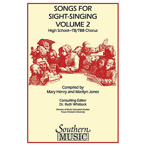 Southern Songs for Sight Singing- Volume 2 (High School Edition TB Book) TB Arranged by Mary Henry thumbnail