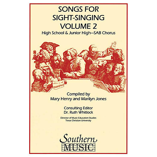 Southern Songs for Sight Singing- Volume 2 (Junior High/High School Edition SAB Book) SAB Arranged by Mary Henry thumbnail