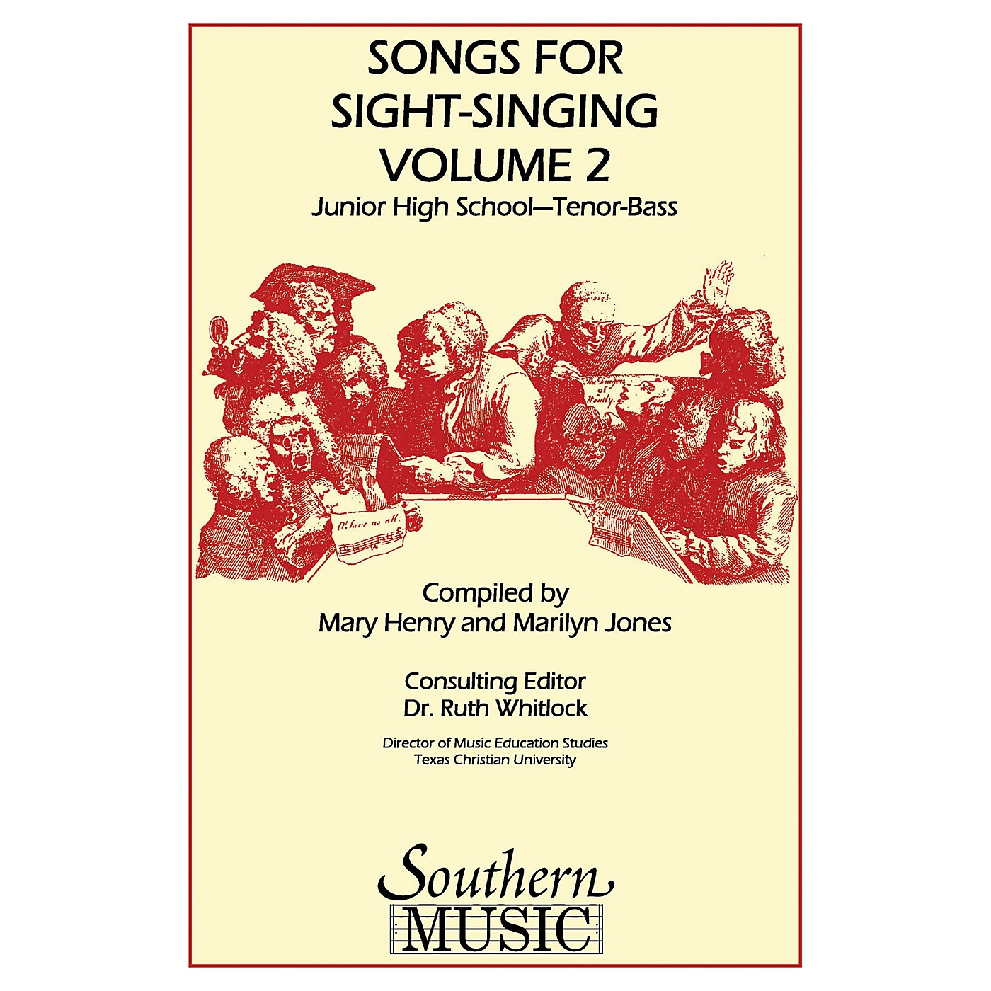 Southern Songs for Sight Singing- Volume 2 (Junior High School Edition TB Book) TB Arranged by Mary Henry thumbnail