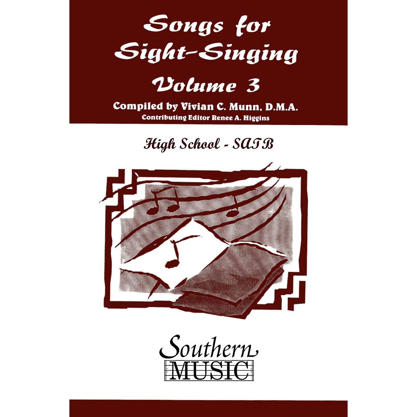 Southern Songs for Sight Singing- Volume 3 (High School Edition SATB Book) SATB Arranged by Mary Henry thumbnail