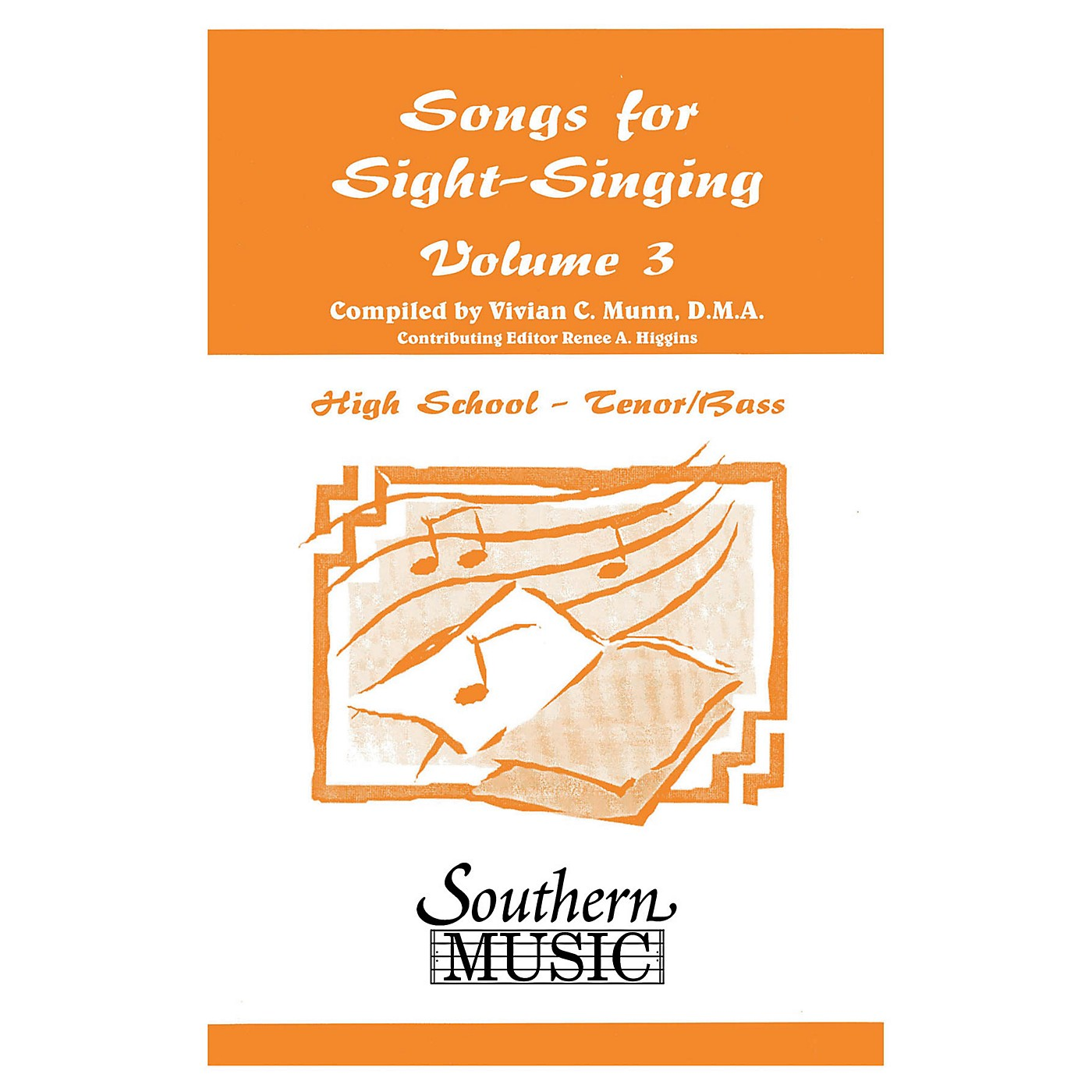 Southern Songs for Sight Singing - Volume 3 (High School Edition TB Book) TB Arranged by Mary Henry thumbnail