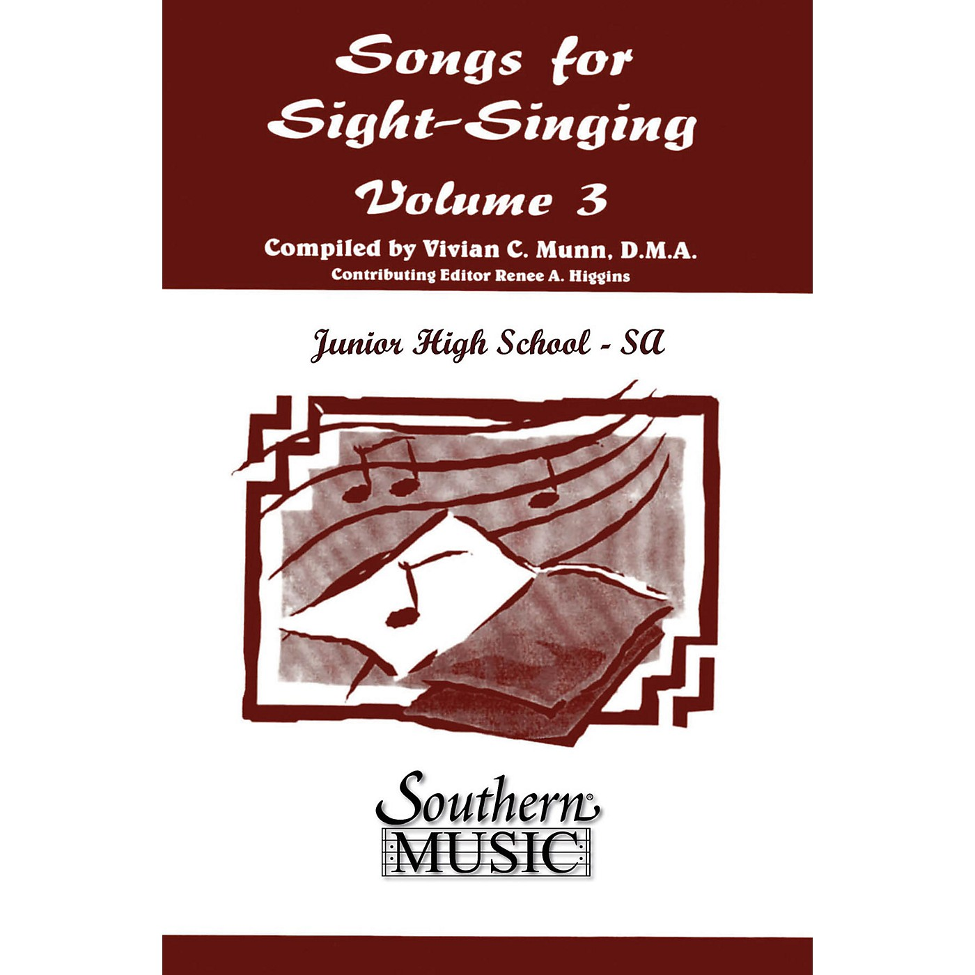 Southern Songs for Sight Singing- Volume 3 (Junior High School Edition SSA Book) SSA Arranged by Mary Henry thumbnail