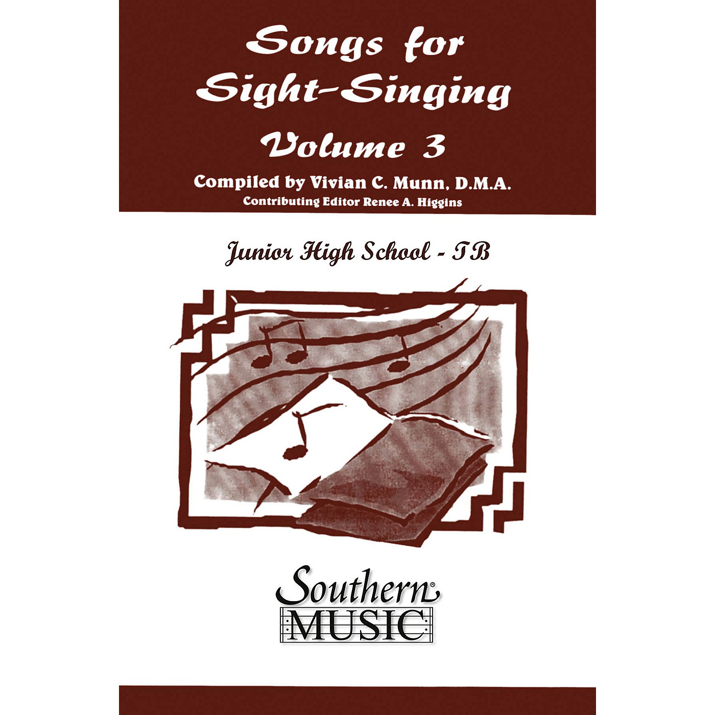 Southern Songs for Sight Singing- Volume 3 (Junior High School Edition TB Book) TBB Arranged by Mary Henry thumbnail