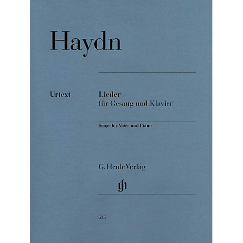 G. Henle Verlag Songs for Voice and Piano Henle Music Folios Softcover Composed by Joseph Haydn Edited by Paul Mies thumbnail