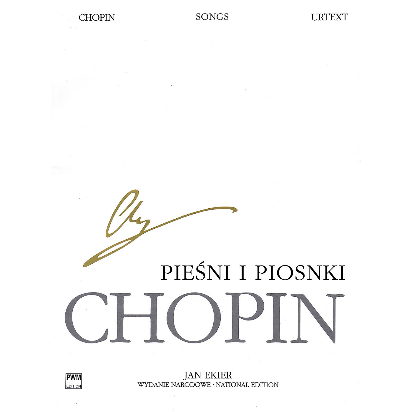 PWM Songs for Voice and Piano PWM Series  by Frédéric Chopin Edited by Jan Ekier thumbnail