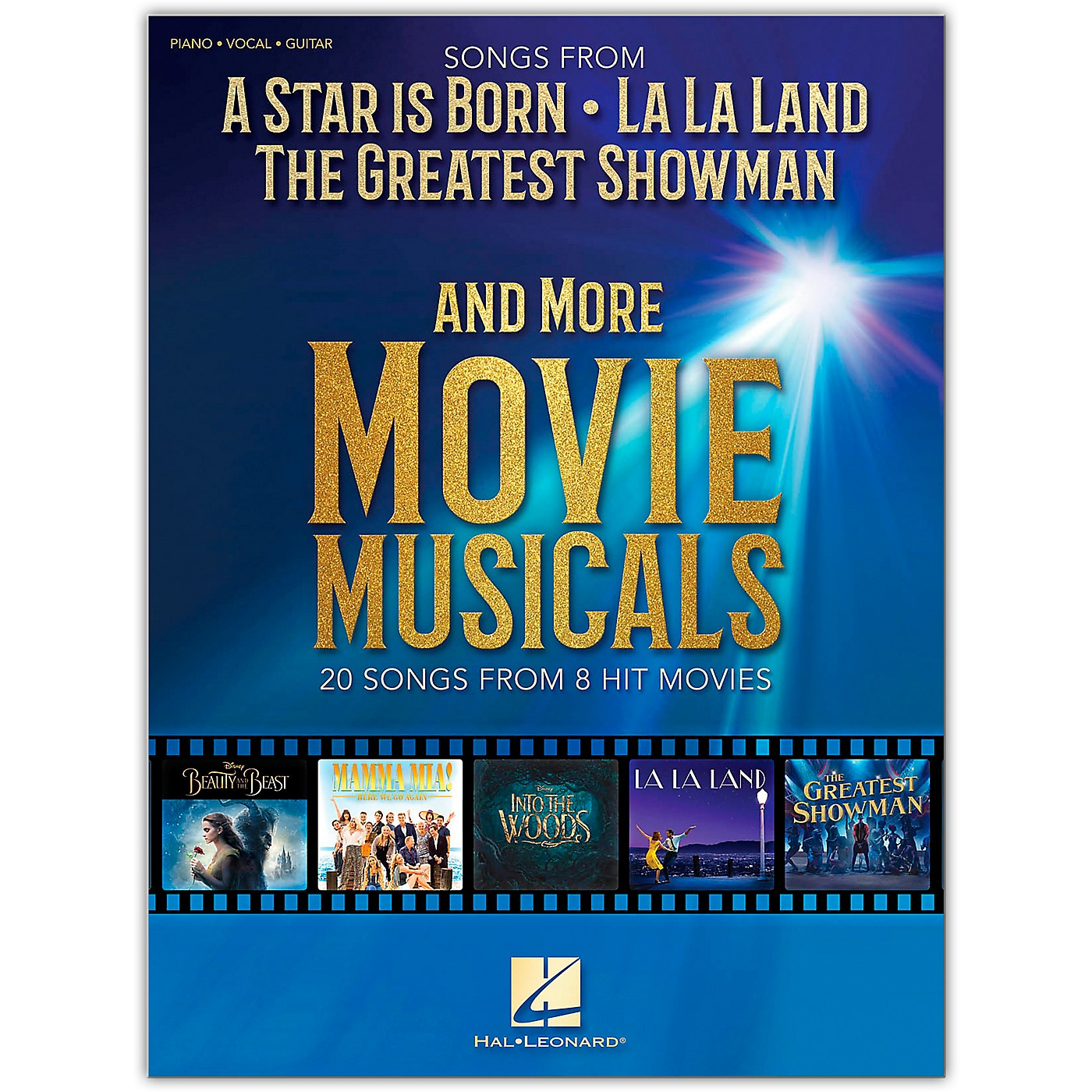 Hal Leonard Songs from A Star Is Born, The Greatest Showman, La La Land and More Movie Musicals Piano/Vocal/Guitar Songbook thumbnail