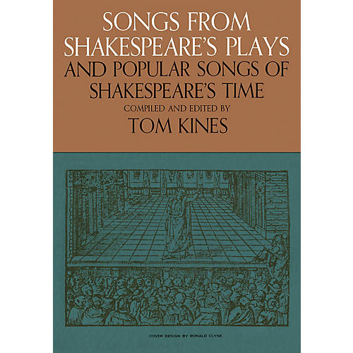 Music Sales Songs from Shakespeare's Plays and Popular Songs of Shakespeare's Time Music Sales America Softcover thumbnail