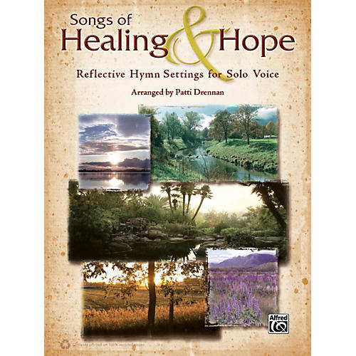 Alfred Songs of Healing & Hope Solo Voice Book thumbnail