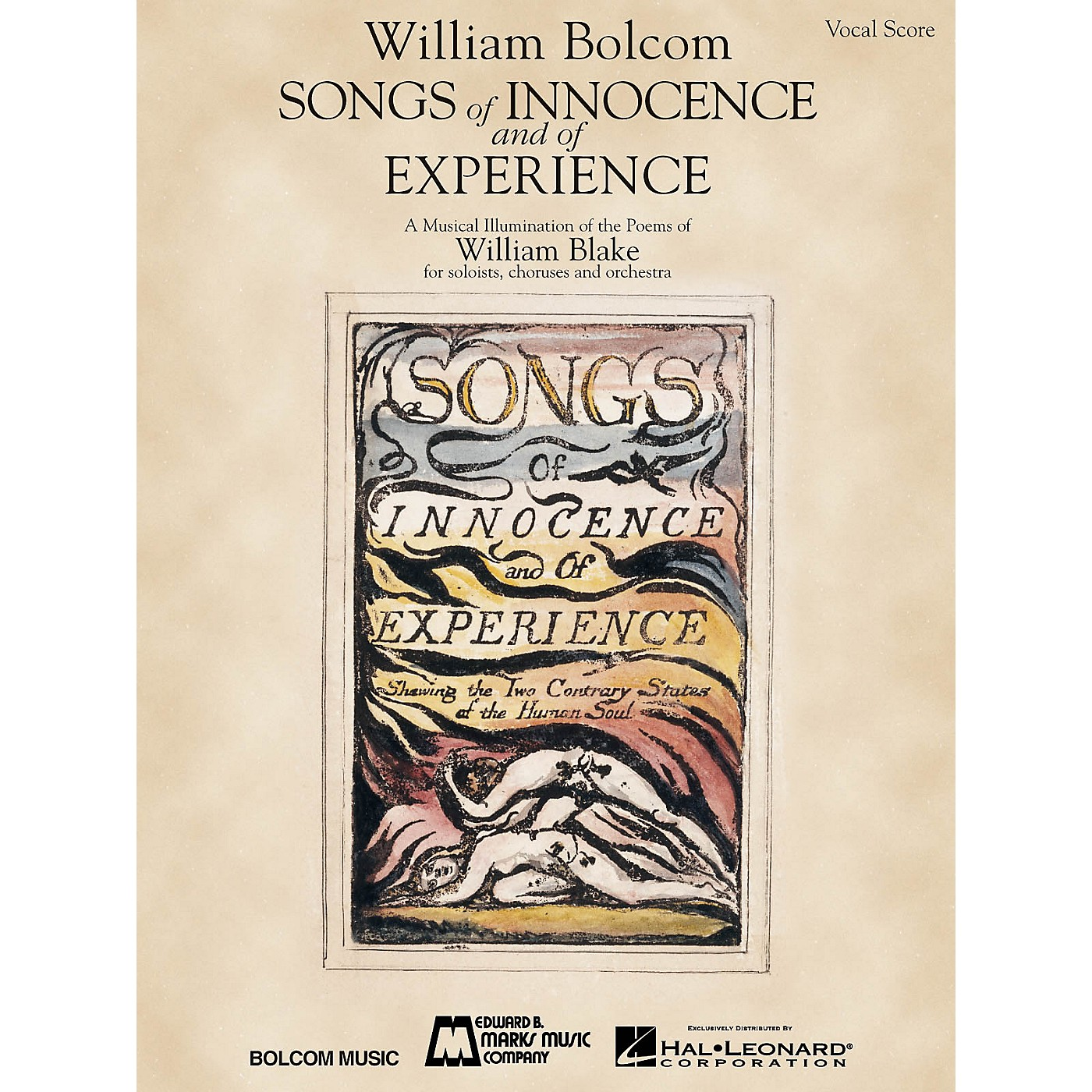 Edward B. Marks Music Company Songs of Innocence and of Experience (Vocal Score) Composed by William Bolcom thumbnail