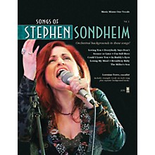 Music Minus One Songs of Stephen Sondheim, Volume 2 Music Minus One Series Softcover with CD  by Stephen Sondheim