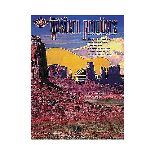 Hal Leonard Songs of Western Frontiers Fingerstyle Guitar Tab Songbook-thumbnail