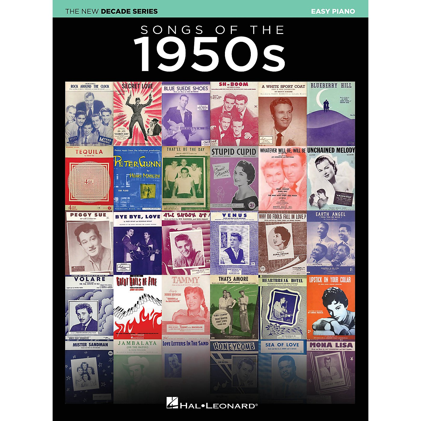 Hal Leonard Songs of the 1950s (The New Decade Series) Easy Piano Songbook thumbnail