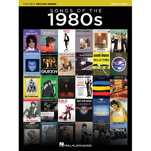 Hal Leonard Songs of the 1980s (The New Decade Series) Easy Piano Songbook thumbnail
