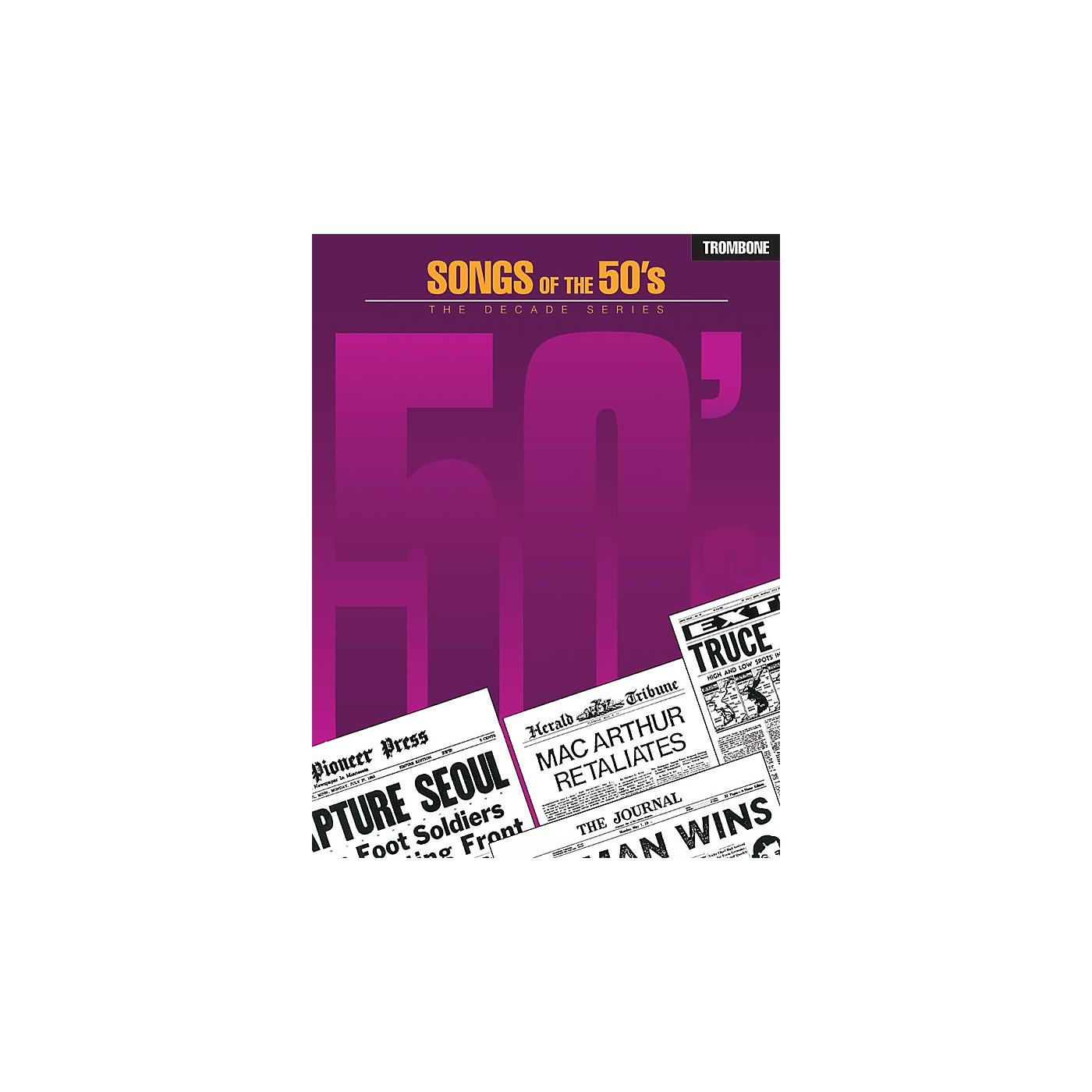 Hal Leonard Songs of the '50s (Trombone) Instrumental Folio Series thumbnail