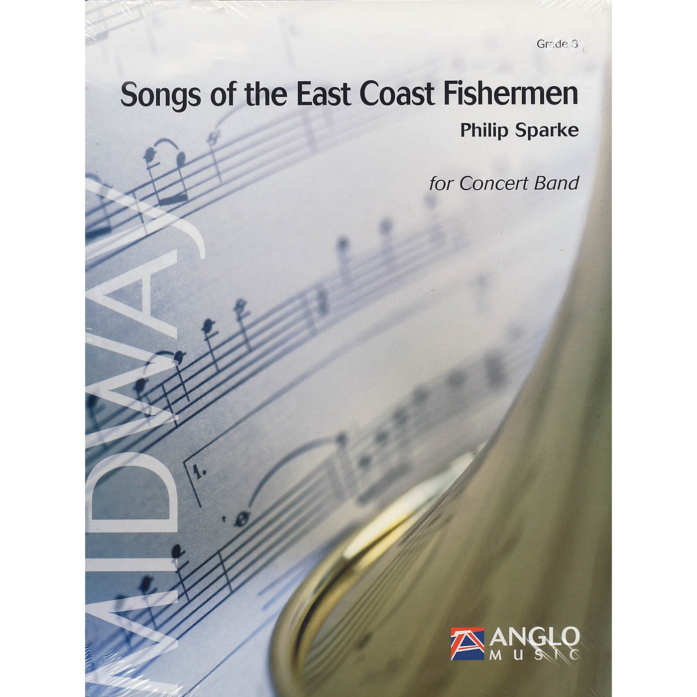 Anglo Music Press Songs of the East Coast Fishermen (Grade 3 - Score Only) Concert Band Level 3 Composed by Philip Sparke thumbnail