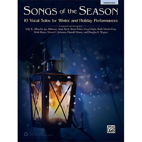 Alfred Songs of the Season Medium High Book thumbnail