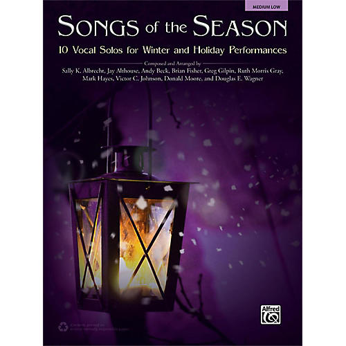Alfred Songs of the Season Medium Low Acc. CD thumbnail