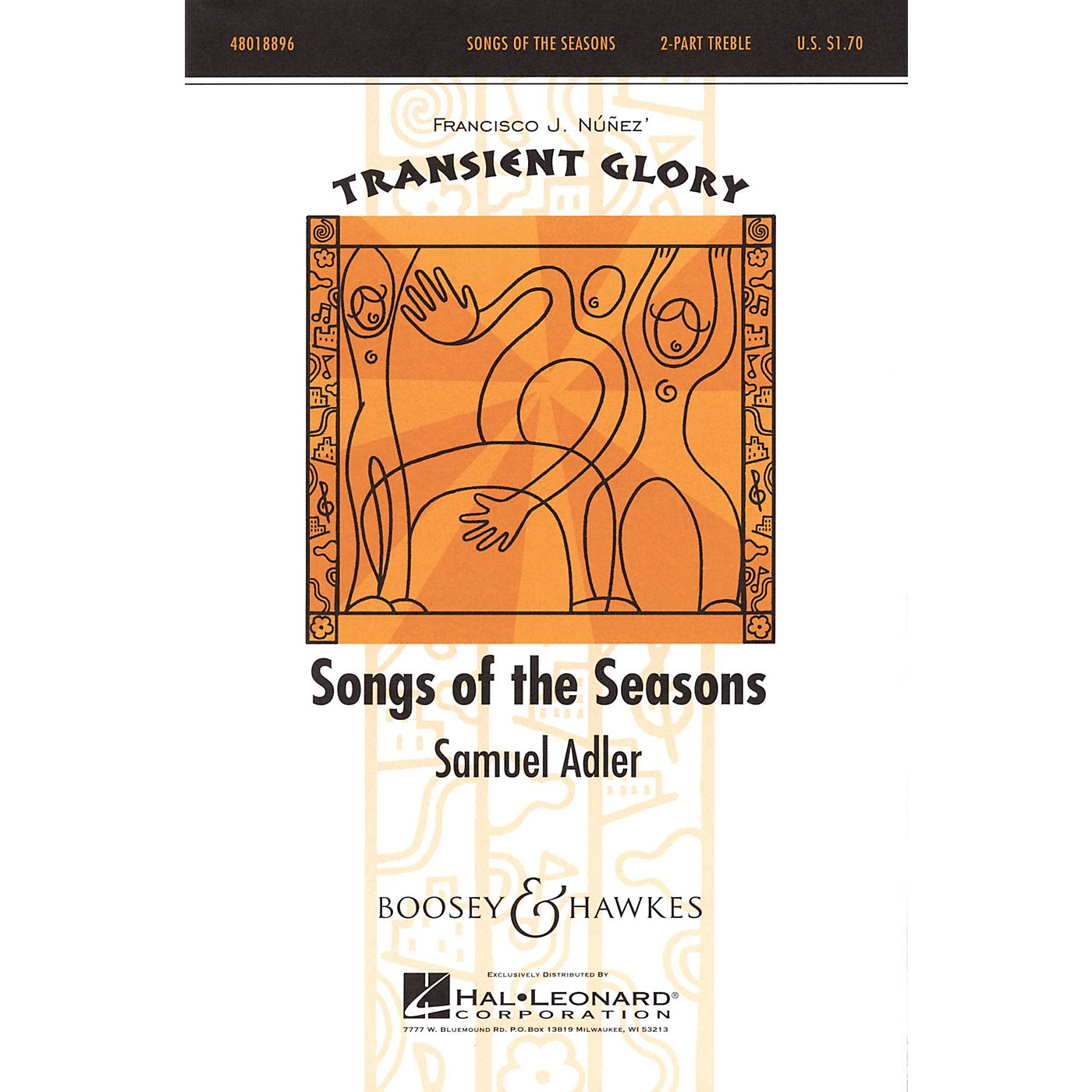 Boosey and Hawkes Songs of the Seasons (Transient Glory Series) 2-Part composed by Samuel Adler thumbnail