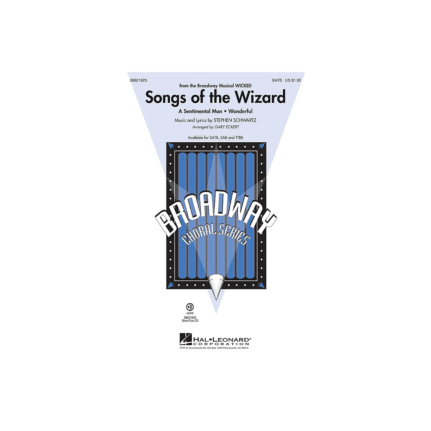 Hal Leonard Songs of the Wizard (from Wicked) SATB arranged by Gary Eckert thumbnail