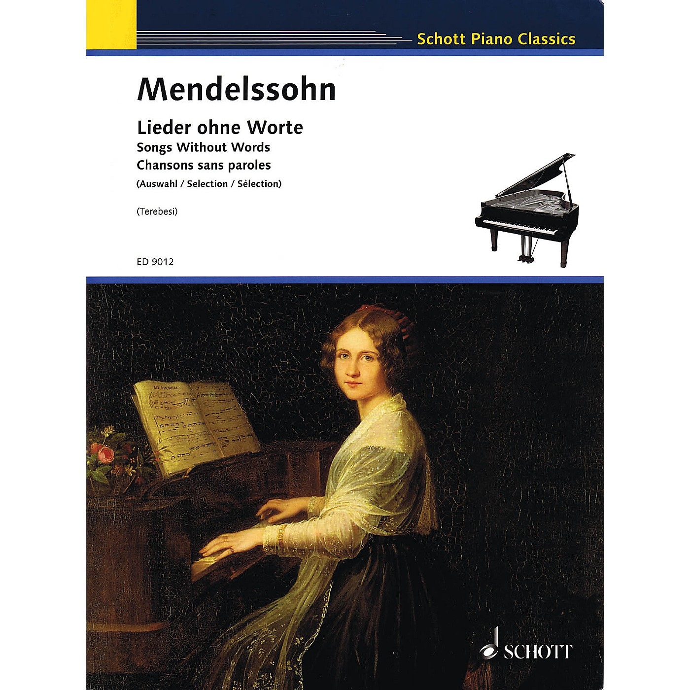 Schott Songs without Words Schott Series Softcover Composed by Felix Mendelssohn Edited by Andre Terebesi thumbnail