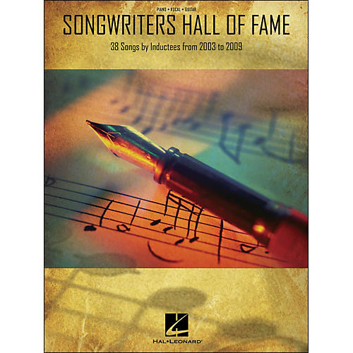 Hal Leonard Songwriters Hall Of Fame 2003-2009 arranged for piano, vocal, and guitar (P/V/G) thumbnail
