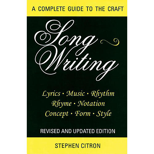 Hal Leonard Songwriting - A Complete Guide To The Craft thumbnail