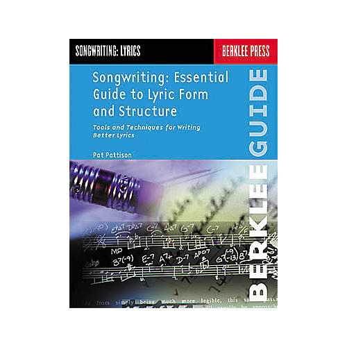 Berklee Press Songwriting: Essential Guide to Lyric Form and Structure Book-thumbnail