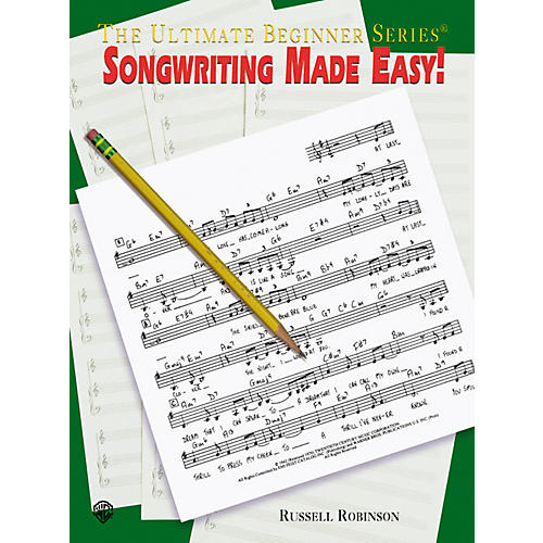 Alfred Songwriting Made Easy Book thumbnail