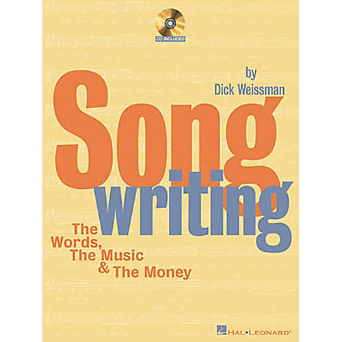 Hal Leonard Songwriting The Words, The Music and The Money (Book/CD) thumbnail