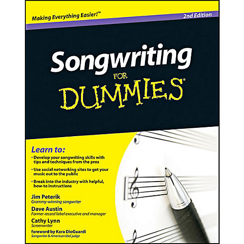 Mel Bay Songwriting for Dummies, 2nd Edition Book thumbnail