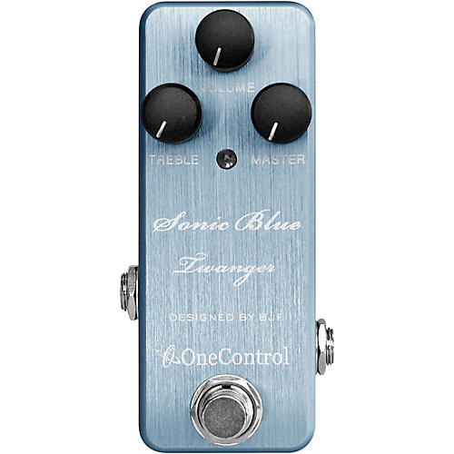 One Control Sonic Blue Twanger Effects Pedal thumbnail
