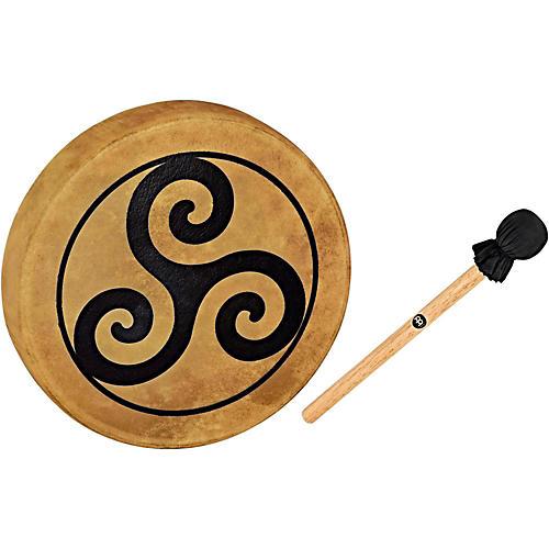 Meinl Sonic Energy HOD15-TR 15-Inch Native American Style Hoop Drum, Triskele Symbol thumbnail