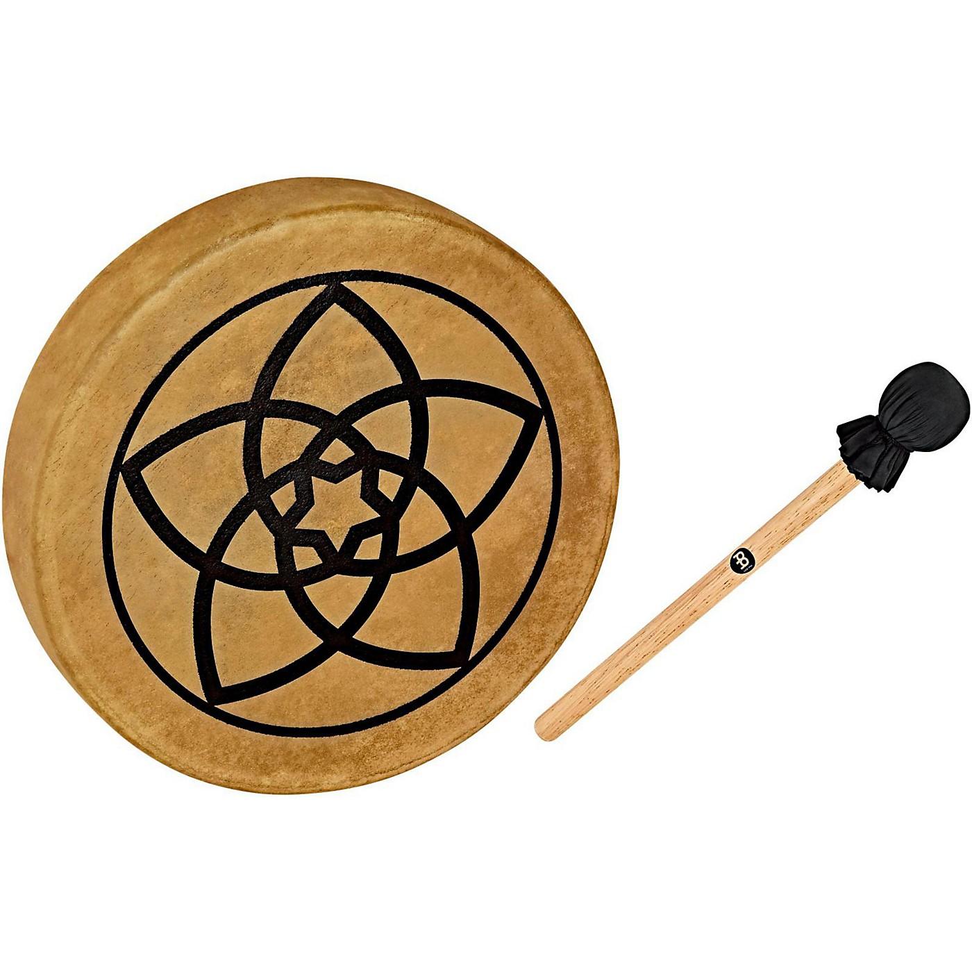 Meinl Sonic Energy HOD15-VF 15-Inch Native American Style Hoop Drum, Venus Flower Symbol thumbnail