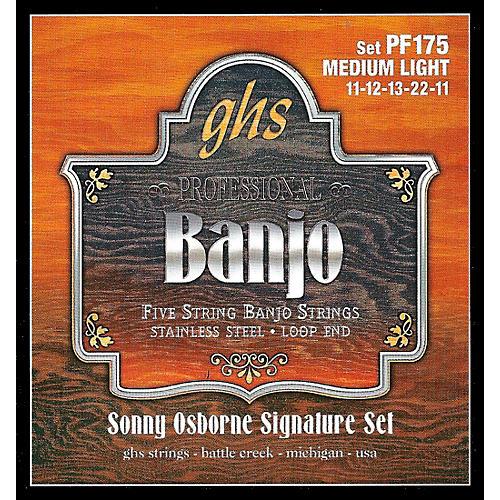 GHS Sonny Osborne Signature Banjo Strings Medium Light thumbnail