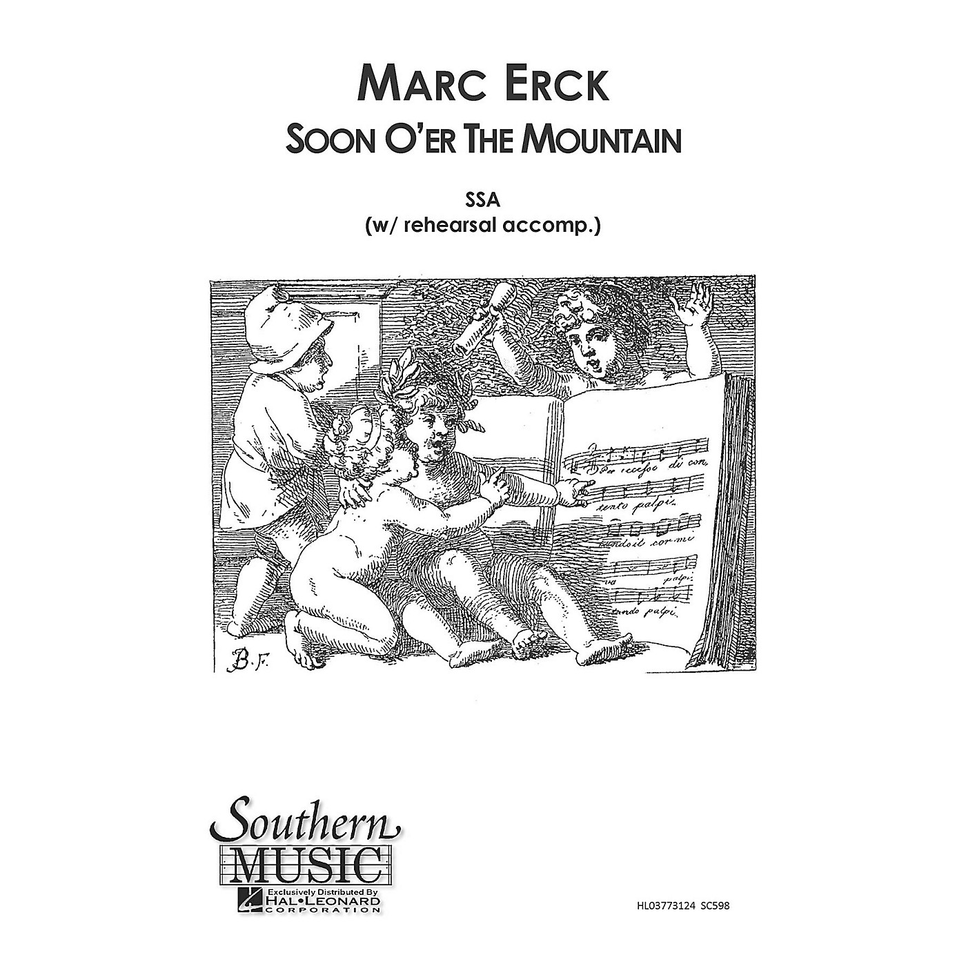 Southern Soon O'er the Mountain SSA Composed by Marc Erck thumbnail