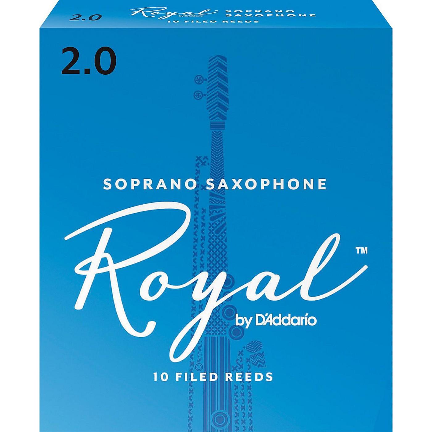 Rico Royal Soprano Saxophone Reeds, Box of 10 thumbnail