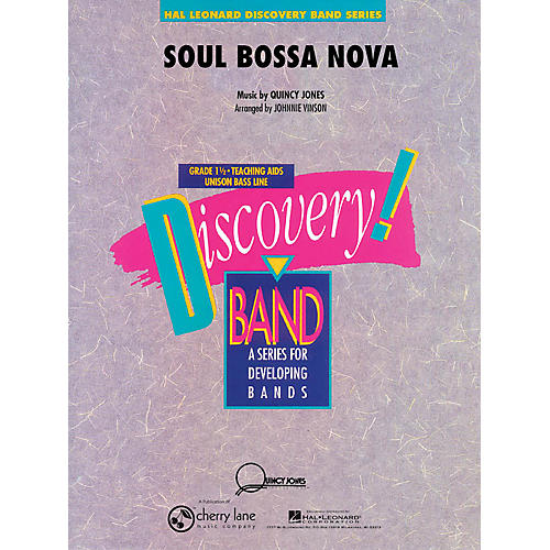 Cherry Lane Soul Bossa Nova Concert Band Level 1.5 Arranged by Johnnie Vinson thumbnail