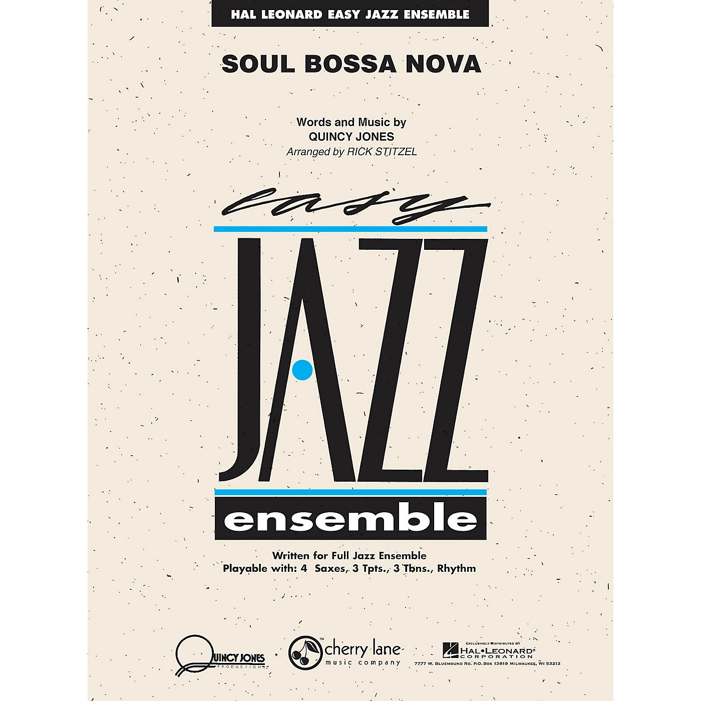 Cherry Lane Soul Bossa Nova Jazz Band Level 2 Arranged by Rick Stitzel thumbnail
