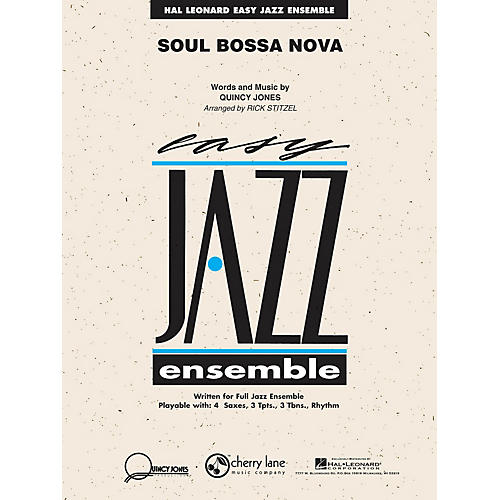 Cherry Lane Soul Bossa Nova Jazz Band Level 2 Arranged by Rick Stitzel thumbnail
