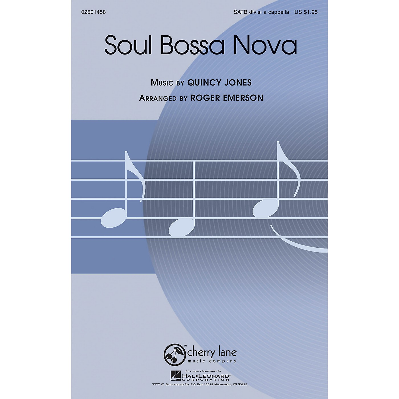 Cherry Lane Soul Bossa Nova SATB DV A Cappella arranged by Roger Emerson thumbnail
