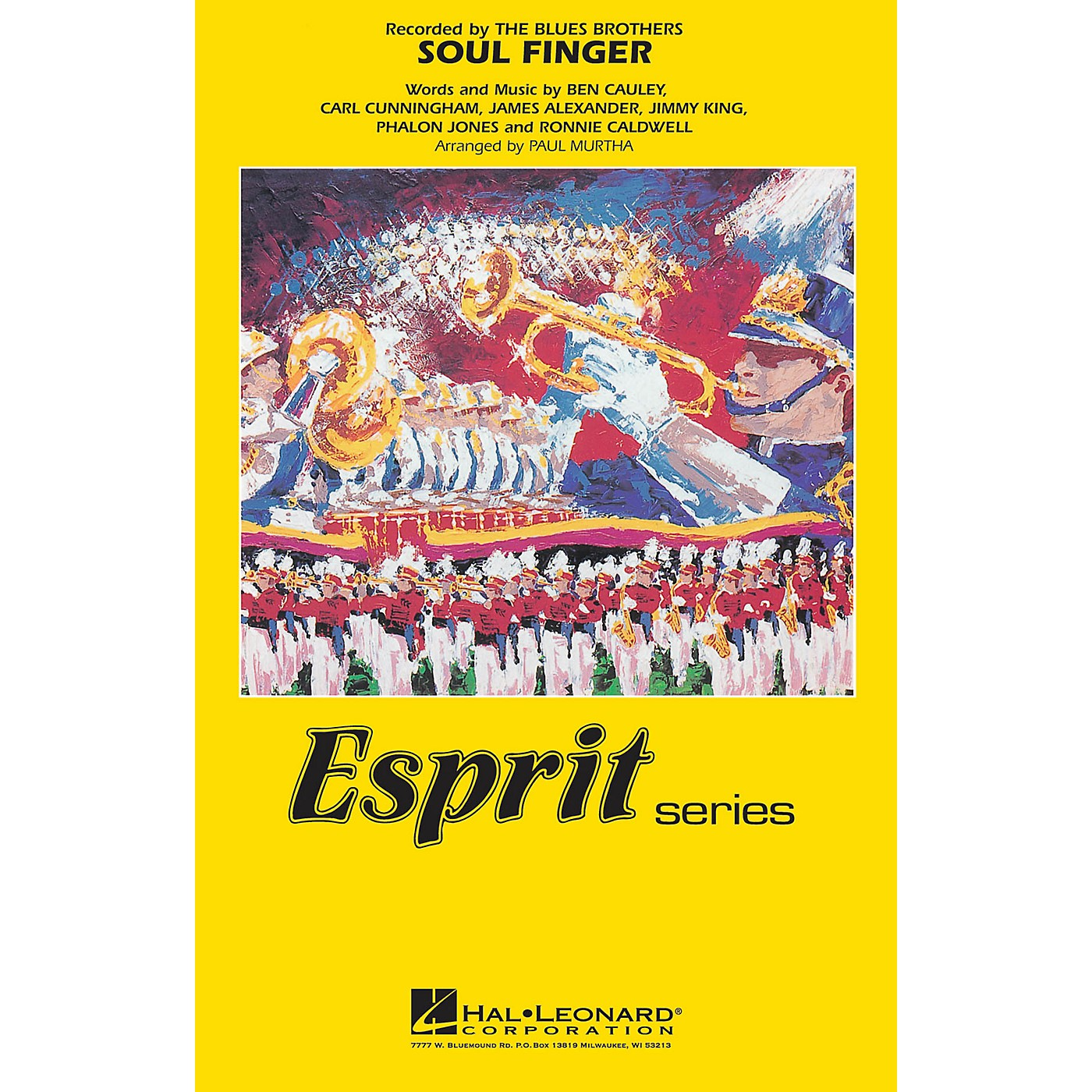 Hal Leonard Soul Finger (Recorded by The Blues Brothers) Marching Band Level 3 Arranged by Paul Murtha thumbnail