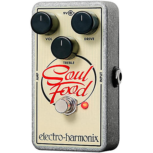 Electro-Harmonix Soul Food Overdrive Guitar Effects Pedal thumbnail