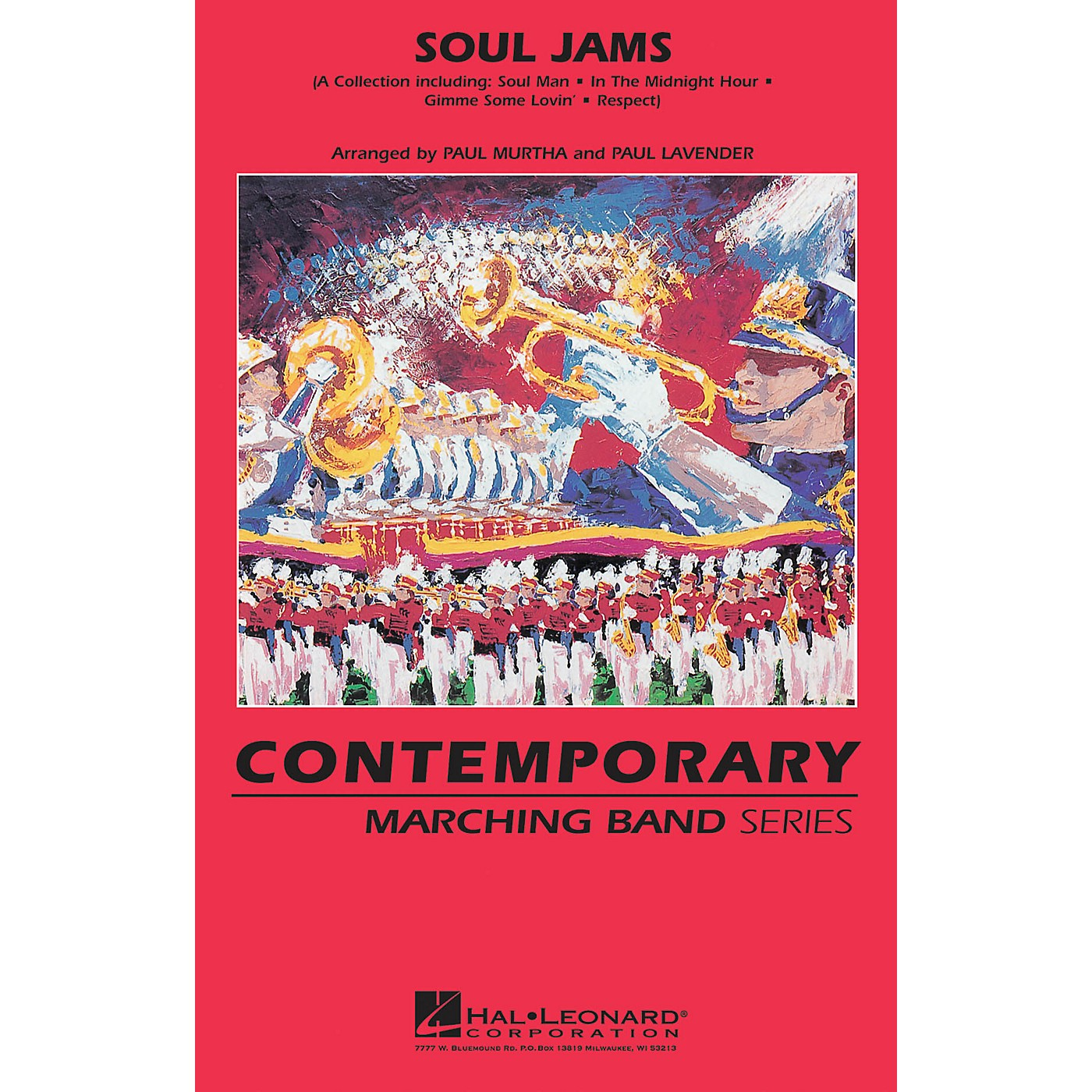 Hal Leonard Soul Jams Marching Band Level 3 Arranged by Paul Lavender thumbnail