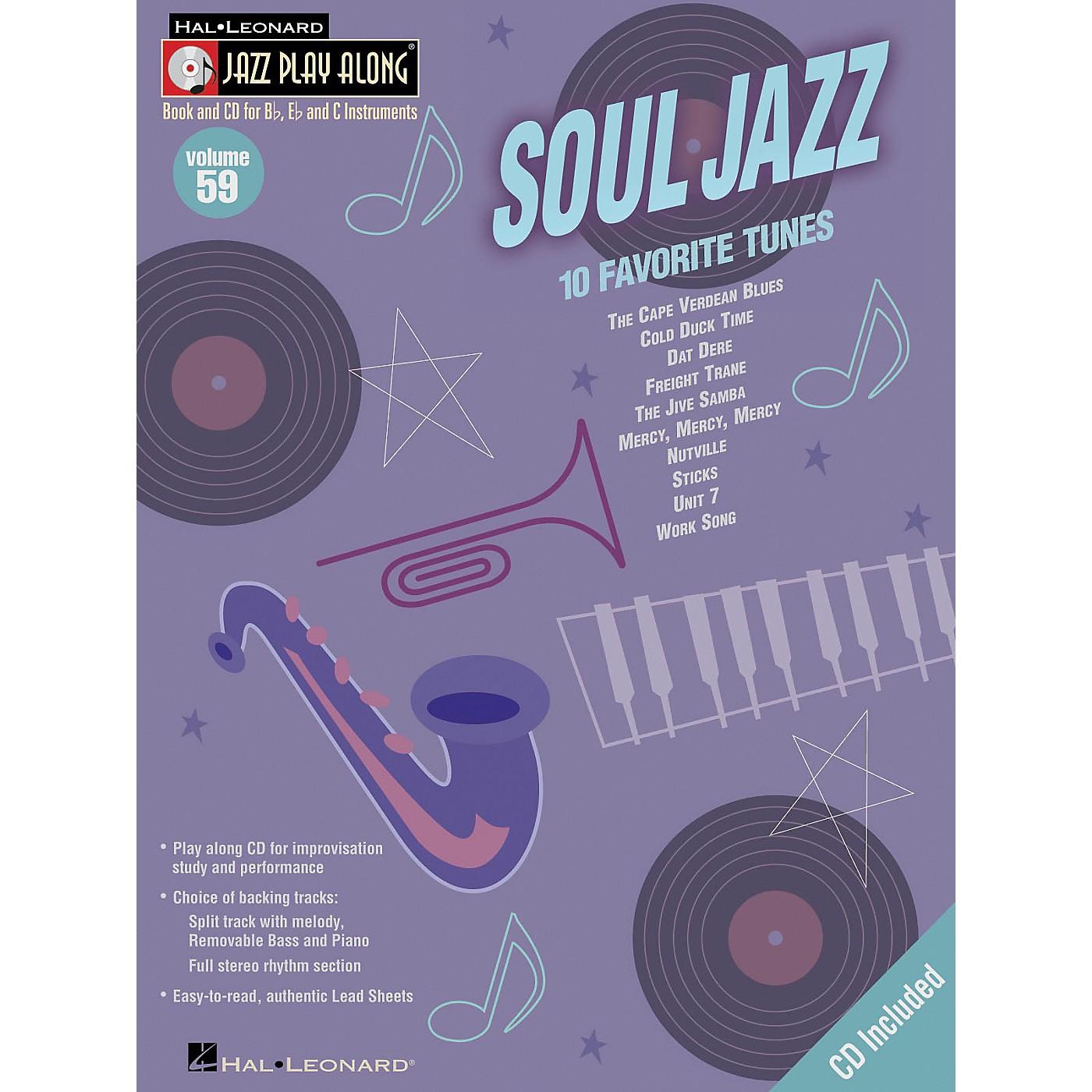 Hal Leonard Soul Jazz - Jazz Play Along Volume 59 Book with CD thumbnail