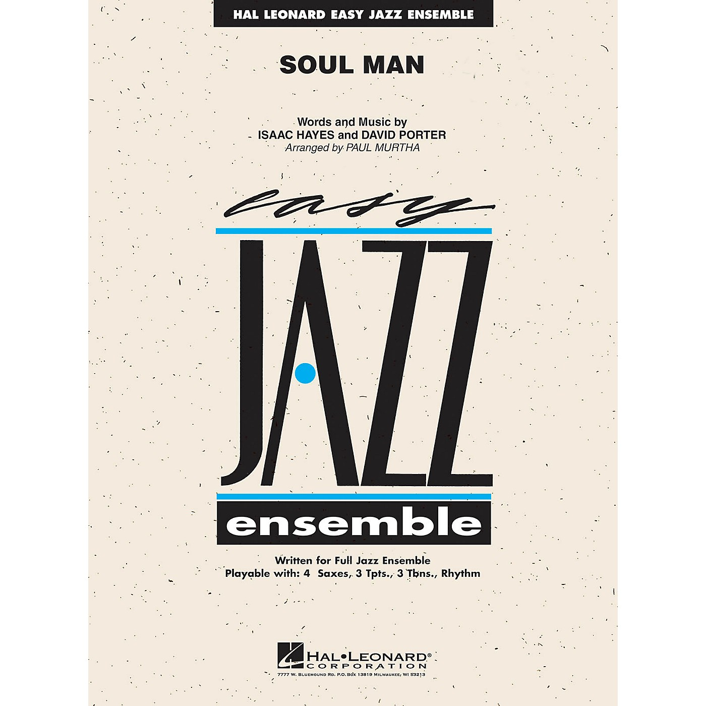 Hal Leonard Soul Man (Includes Online Audio Backing Tracks) Jazz Band Level 2 Arranged by Paul Murtha thumbnail