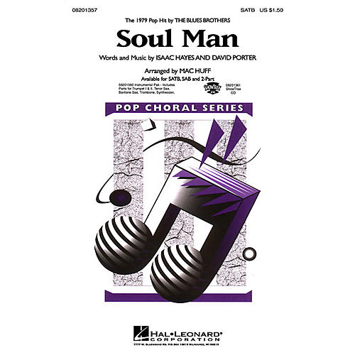 Hal Leonard Soul Man ShowTrax CD by Blues Brothers Arranged by M Huff thumbnail