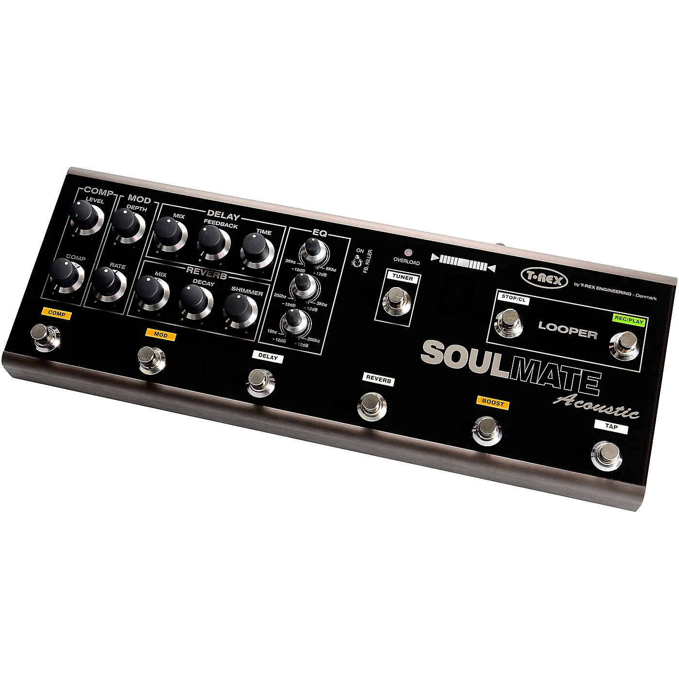 T-Rex Engineering SoulMate Acoustic Multi-Effects Pedal thumbnail